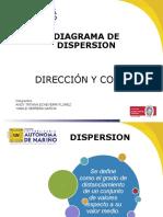 8. DIAGRAMA DE DISPERSION