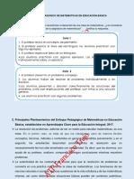 ENFOQUE PEDAGÓGICO DE MATEMÁTICAS EN EDUCACIÓN BÁSICA