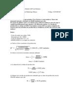 Resolución de ejercicios Modelo LEP sin Faltantes 1
