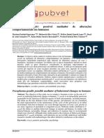 Toxoplasmose e personalidade