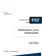 Distributions Linux embarquées