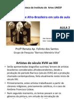 Arte Africana e Afro Brasileira em Sala de Aula - AULA 2
