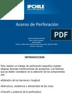 Aceros de Perforacion 1.0