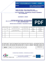 Note de calcul dynamique DALLE DE VOIE DU PONT SUR L'ARC