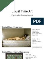 visual time art