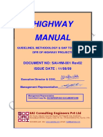 GUIDELINES, METHODOLOGY & QAP TO CARRYOUT DPR OF HIGHWAY PROJECTS
