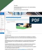Instructiuni de utilizare platformă de cursuri online
