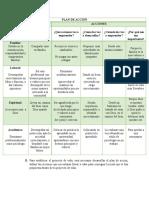 Plan de Accion y Proyecto de Vida Catedra