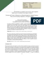 Variación y variedad del diminutivo en español