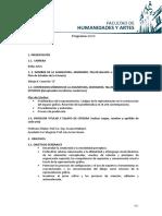 PROGRAMA DIBUJO II COMISION A 2020