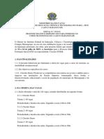 EDITAL CIRCUITO ENEM (MARANGUAPE)
