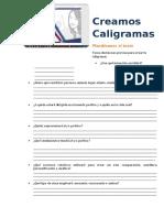 CALIGRAMA-PLANIFICACION