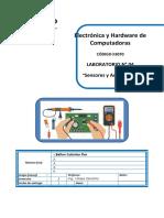 Lab04 - Sensores y Actuadores