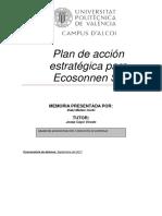 Plan Estratégico para Ecosonnen, S.L.