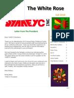 YAAEYC Fall Newsletter 2010
