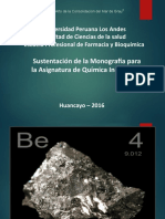 ELEMENTOS QUIMCIOS BERILIO MAGNESIO CALCIO PROPIEDADES