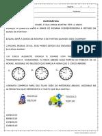 Matemática 2° Ano Fundamental