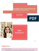 teaching vocabulary for long-term use   teacher leader project