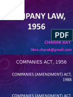 COMPANY (AMENDMENT) ACT, 2013