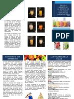 folleto jugos naturales