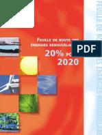 36894497 Feuille de Route Des Energies Renouvelables EREC