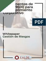 ESCTRUCTURA DE LA ISO 19600 SISTEMAS DE GESTIÓN DE COMPLIANCE