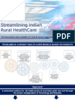 Streamlining the Indian Rural Healthcare