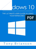 Windows 10 - The Ultimate User Guide