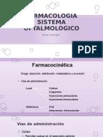 Sistema Oftalmico - Farmacologia