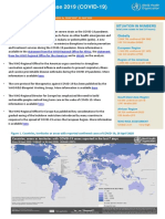 WHO COVID-19 situation report for April 26, 2020