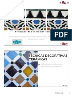 6 Sistemas de decoracion ceramica