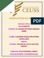 Relacion de La Etica Con Otras Ciencias- Etica Profesional Juridica