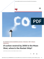 If carbon neutral by 2050 is the Moon Shot, where's the Rocket Ship_ _ Power Engineering