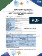 Guía de actividades y rúbrica de evaluación - Fase 6 - Implementar la solución al problema planteado.docx