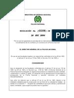 RESOLUCIÓN DE SUPERVISIÓN CONTRATOS Resolución 3256 de 2004 interventoría,supervisión y coordinación.doc
