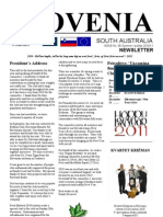 Slovenia Newsletter Dec2010