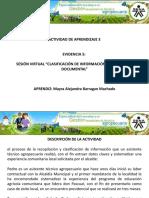 3.5 Evidencia 5 Sesion virtual - Clasif.  Inform. Cualitativa y Documental