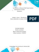 TRABAJO DE BIOQUIMICA SEGUNDO ACTIVIDAD biomoleculas