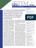 A (evidente) inconstitucionalidade da criminalização do uso de drogas