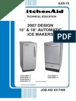 Reparo Maq de Gelo Kitchen Aid- IceMaker