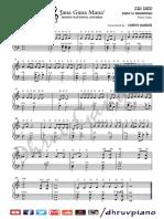 Jana Gana Mana - Sheet Music and Sargam Notes - Dhruv Gandhi
