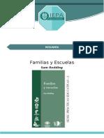 Resumen Familias y Escuelas