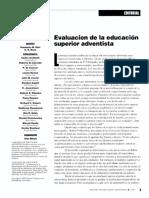 Revista Educación Adventista