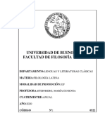 Filología Latina 2020 - Steinberg