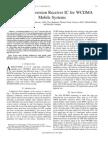 Reynolds03 JSSC Vol38no9 Pp1555-1560 ADirectConvReceiverICforWCDMAMobileSystems