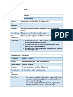 Descripción de Casos de Uso Software planeacion