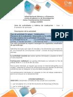 Guia de Actividades y Rúbrica de Evaluación Caso 2 Exposición de Opiniones