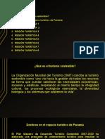 UNIVERSIDAD DE PANAMÁ. REGIONES TURISTICAS