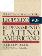 Zea Leopoldo - El Pensamiento Latinoamericano Edit
