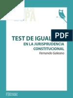 2011- Galeano- Test Igualdad